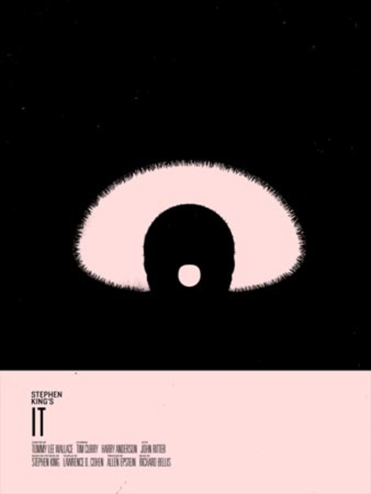 Stephen King Posters Cool Hunting - Minimal movie posters nick barclay