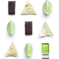 Komforte Chockolates Tortilla Lime + Salt Bar