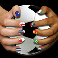 Minx Fantastic Flags Nail Art