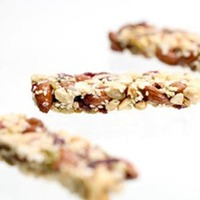 Three Healthy Snack Bars