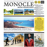 Monocle Mediterraneo Newspaper