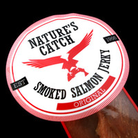 Nature's Catch Smoked Salmon Jerky
