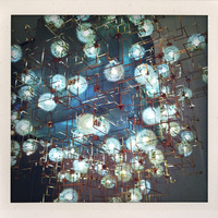 Fragile Future Chandelier