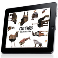 Critteroos: Mix. Match. Print.