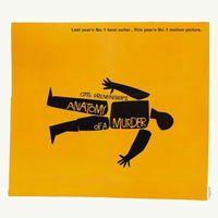 Saul Bass for Anatomy of a Murder