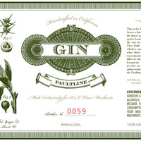 K&L Faultline Gin