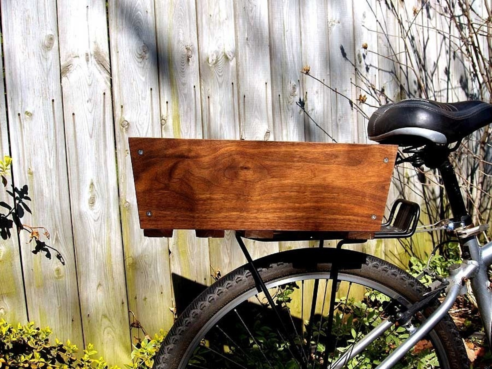 Wooden Bike Accessories Cool Hunting