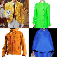 Winter Coats in Summer Colors 