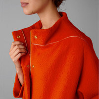 Winter Coats in Summer Colors: Orange