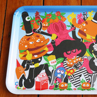 Burgerac + Rob Flowers Tray