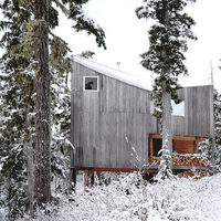 Scott & Scott Architects Alpine Cabin