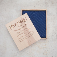 Folk Fibers Indigo Wholecloth Collection