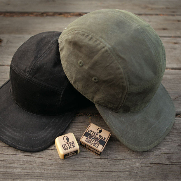 Coal + Otter Wax 5 Panel Hat Collaboration