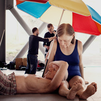 Ron Mueck at Fondation Cartier Pour l'Art Contemporain