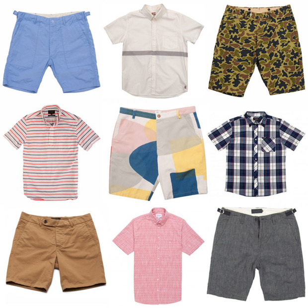 10 Shirts and Shorts