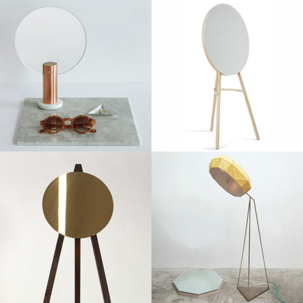 Stand Alone Mirrors at NYC Design Week