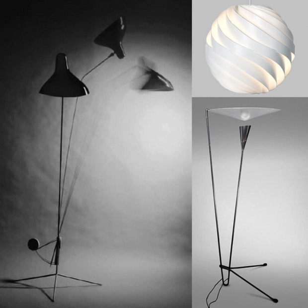 Three Reissued Modernist Lamps