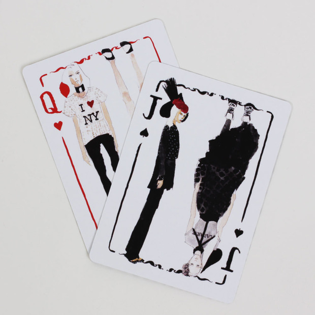 Chaos to Couture Playing Cards