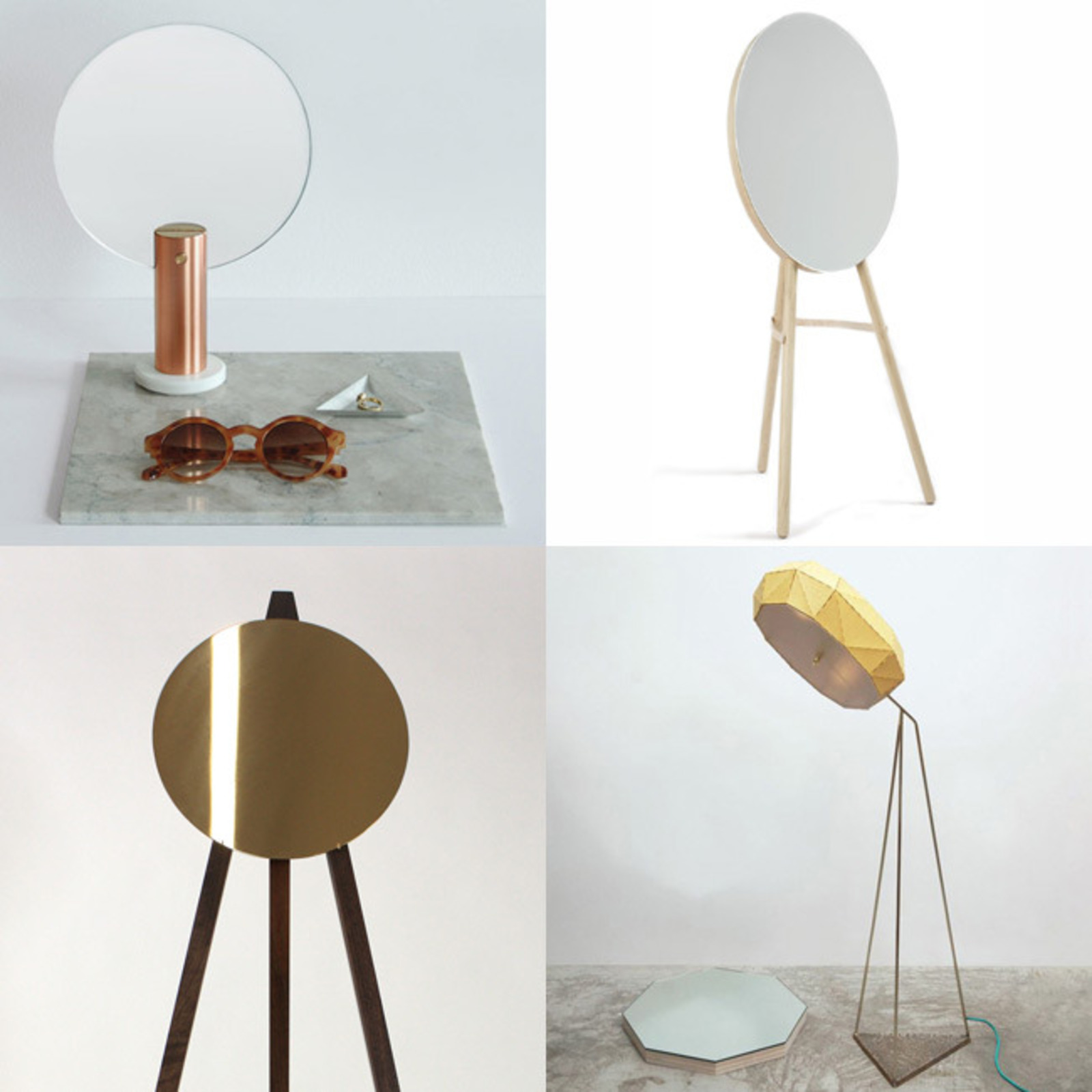 Stand Alone Designs : Stand alone mirrors at nyc design week cool hunting