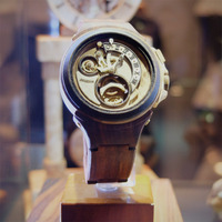 Valerii Danevych's Wooden Timepieces