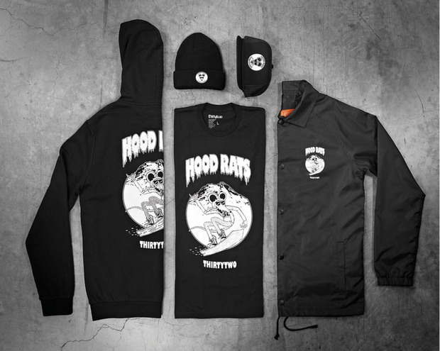 ThirtyTwo Hood Rat Collection