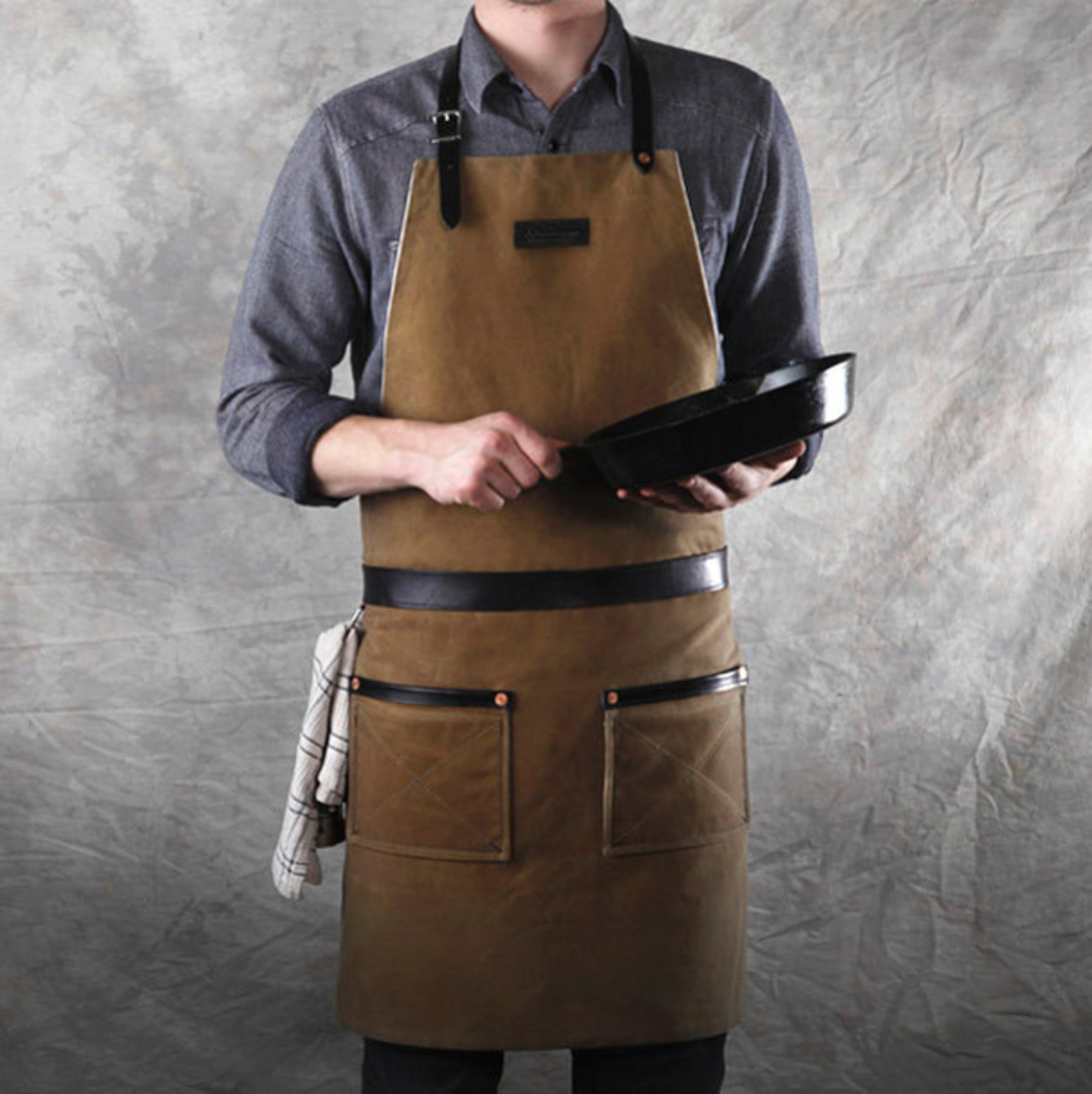 Chef+Aprons+for+Boys Hardmill Rugged Apron - Cool Hunting
