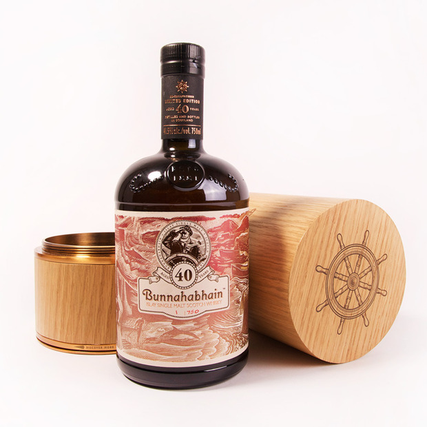 Bunnahabhain 40-Year-Old Scotch