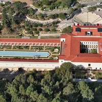 The Getty Villa in Malibu