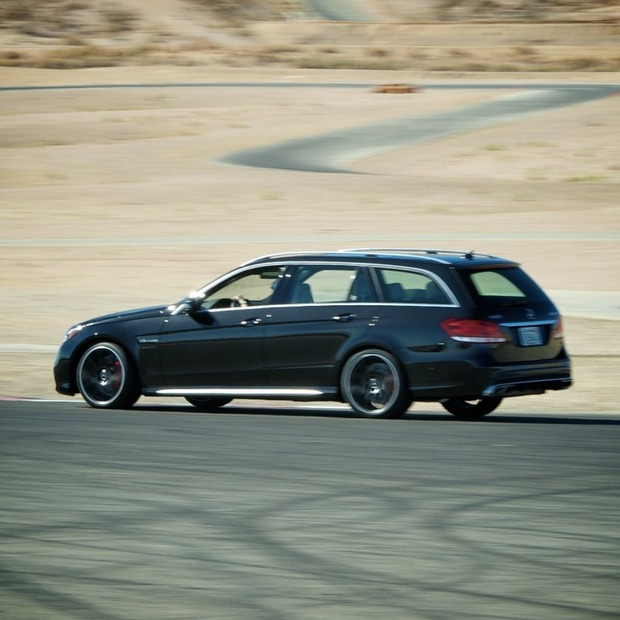 Test Drive: 2014 MB E63 AMG S-Model Wagon
