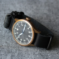Worn & Wound NYC Nato Horween Watch Strap