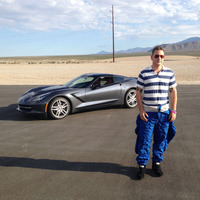 2014 Corvette Stingray Biometric Test Drive