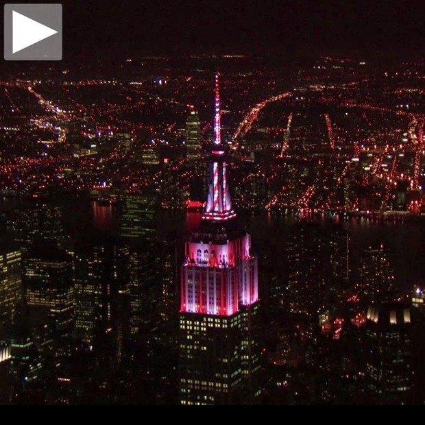 Cool Hunting Video: Empire State Light Show