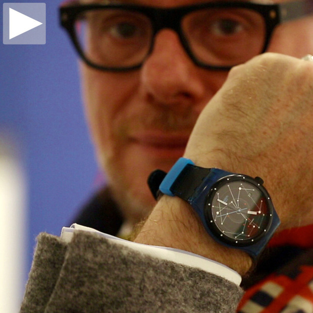 Cool Hunting Video: Carlo Giordanetti of Swatch