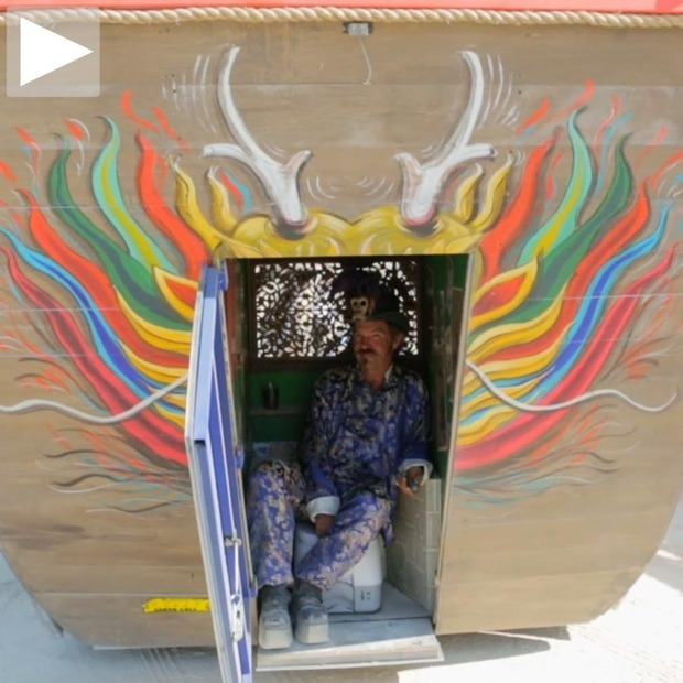 Cool Hunting Video: Reverend Gadget's Art Car