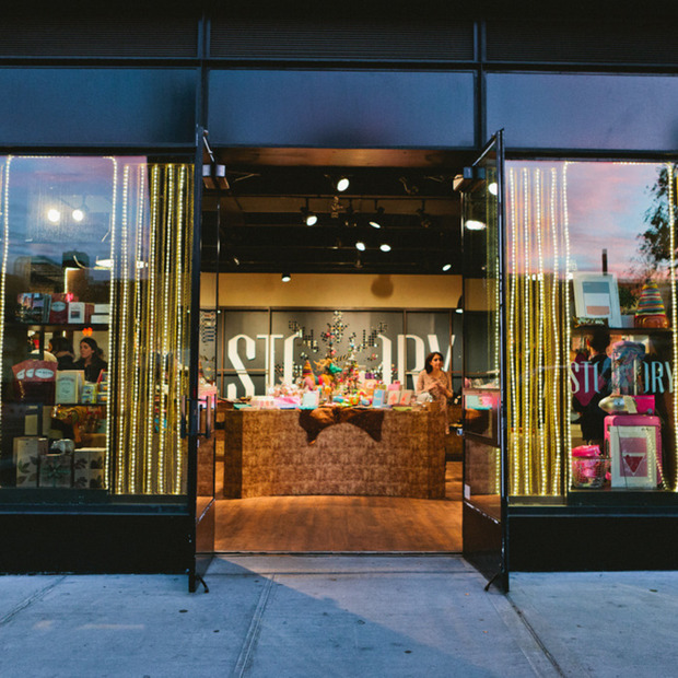 STORY + Shop Small: Home for the Holidays
