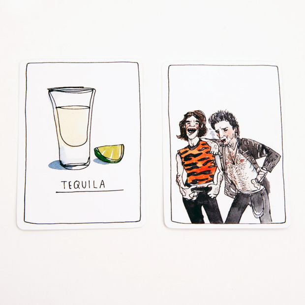 NoMad Drinking Cards