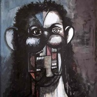 George Condo: Ink Drawings