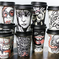 Miguel Cardona's Coffee Cups for Charity