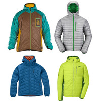 Four Light Packable Down Jackets