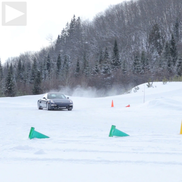 Cool Hunting Video: Porsche Camp 4 Ice Driving