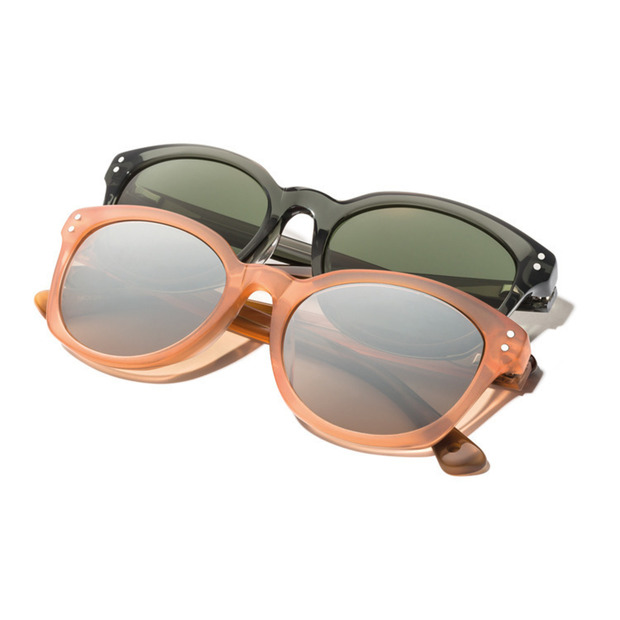 Moncler Lunettes Mido 2014: Mens and womens sunglasses inspired by the 1950s styled for the slopes and the streets