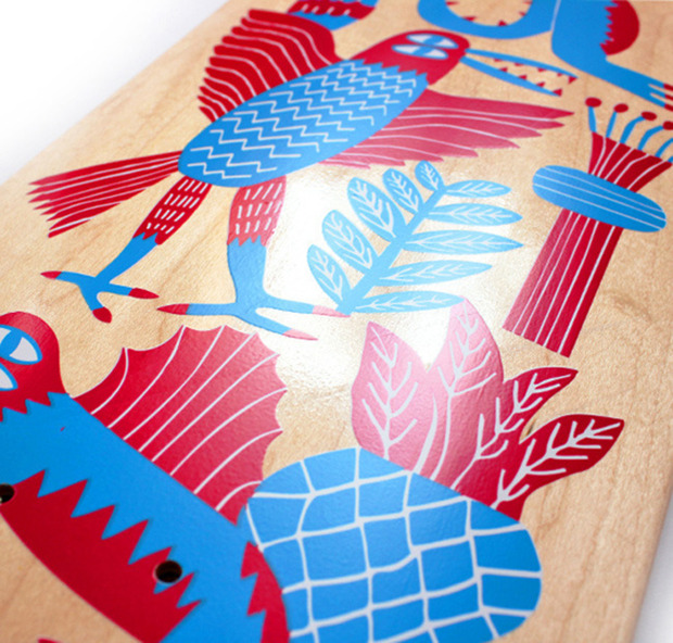 Blast Skates Illustrated Boards: Limited edition, artist-designed decks—handmade with love in England