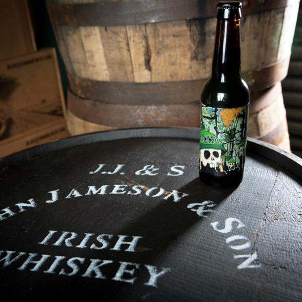 Ger'onimo by Beavertown + Jameson : The East London brewery pairs up with the Irish whiskey to create a limited edition imperial stout