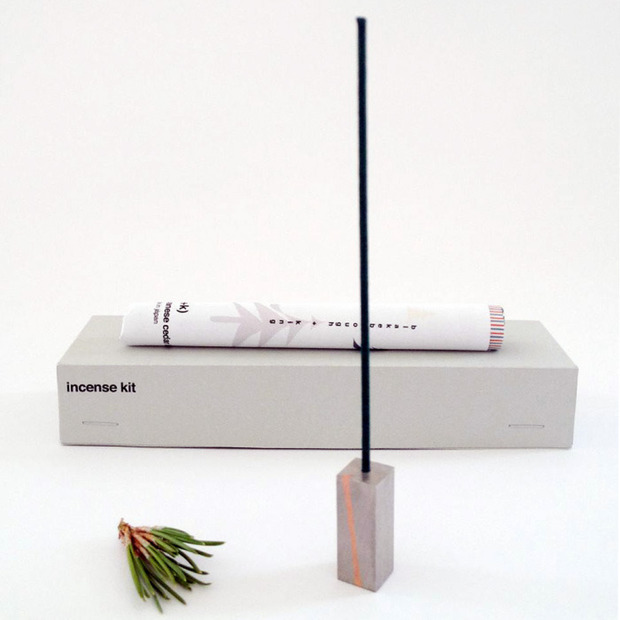 Blakebrough + King Incense Kit: A modern take on the oftentimes kitsch item, handmade from stainless steel and copper