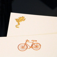 Thornwillow Press Correspondence Cards