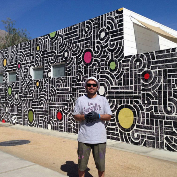 Interview: Aaron De La Cruz: The San Francisco-based artist on his new Ace Hotel mural and embracing imperfections