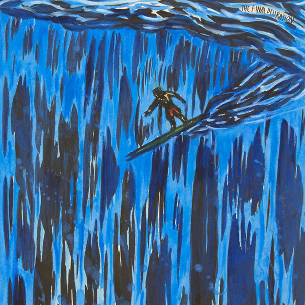 Raymond Pettibon: Are Your Motives Pure?: Words and art combine to make up this bold, surf-centric exhibition