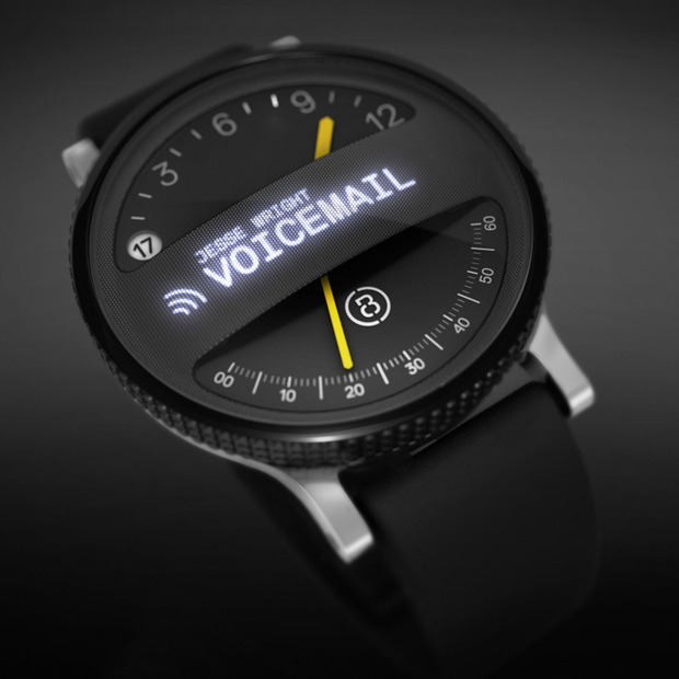 The Span Watch from Box Clever: A blend of analog and digital in the SF design studio's smartwatch concept