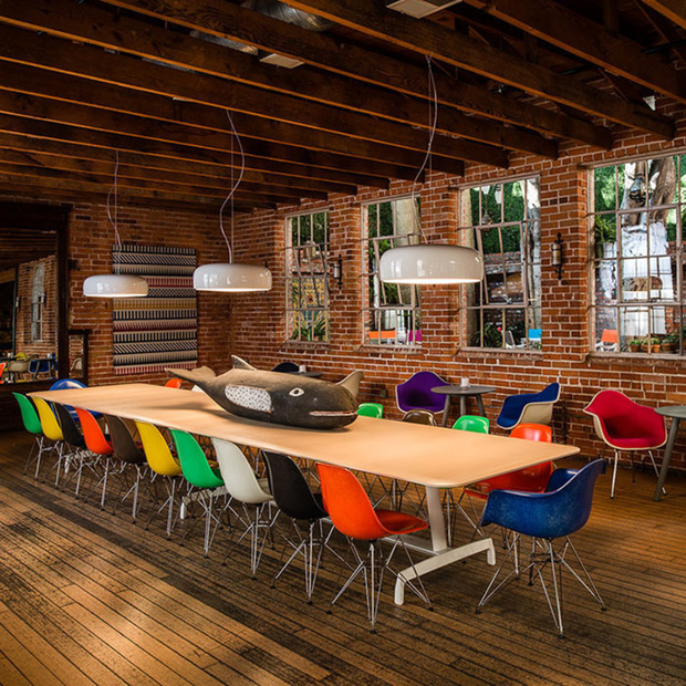 Interview: Eames Demetrios: The grandson of famous designer couple Charles and Ray Eames on the colorful new update on their iconic shell chairs and his global art project