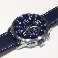 Baselworld 2014: Brilliant Blue Dials